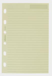 Filofax Filofax pocket linjerade blad beige 24st - Kalenderkungen.se