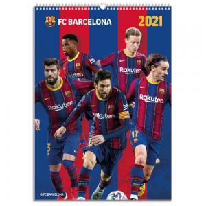 Burde Förlag Väggkalender Barcelona 2021 - Kalenderkungen.se
