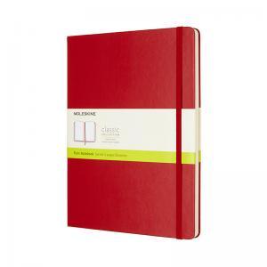 Moleskine Moleskine Notebook X-large Hard Cover - Röd - olinjerad - Kalenderkungen.se