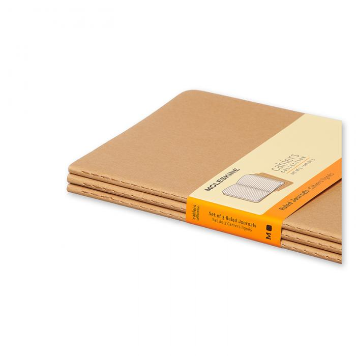 Moleskine Cahier Journal Large Ruled - Natur