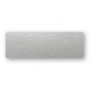 Placeringskort Enkla 10-pack 220g Silver