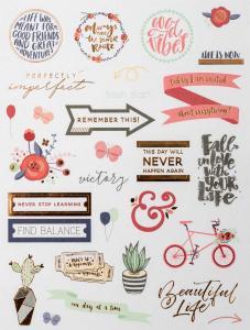 Calender Stickers Pastel 3