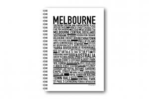 Gullers Anteckningsbok Melbourne - Kalenderkungen.se