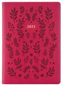 Kalender Letts Woodland A5 V/U Pink 2022