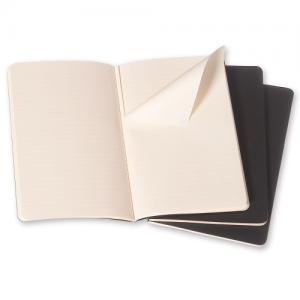 Moleskine Cahier Journal Large Plain - Svart