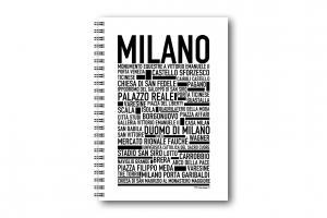 Anteckningsbok Milano
