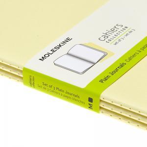 Moleskine Cahier Journal Plain Large Yellow