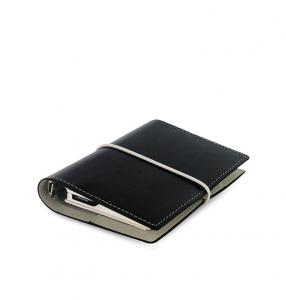 Filofax Domino Pocket Svart