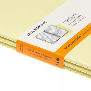 Moleskine Cahier Journal Large Ruled Yellow
