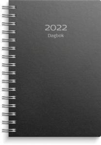 Dagbok svart miljökartong 2022