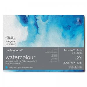 Akvarellblock 18x26cm Winsor & Newton Premium Cold Press 300g