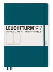 Leuchtturm1917 Leuchtturm Notebook A4 Slim Hard 121s Pacific Green olinj - Kalenderkungen.se
