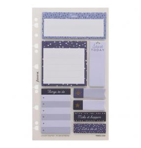 Filofax Sticky notes Indigo till personal/A5/A4