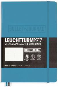Leuchtturm1917 Leuchtturm Bulletjournal A5 dotted Nordic Blue - Kalenderkungen.se