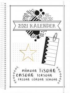 Veckoplanering Doodle III A5 2021