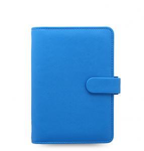 Filofax Filofax Saffiano Personal Fluoro Blue - Kalenderkungen.se