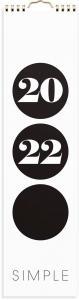 Väggkalender Simple 2022