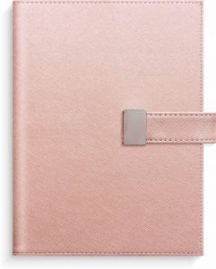 Liten Veckokalender rosa konstläder Tora med slejf 2022