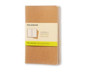 Moleskine Moleskine Cahier Journal Pocket Plain - Kraft - Kalenderkungen.se