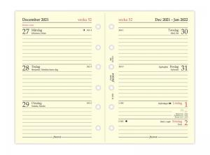 Filofax dagbok Pocket 2022 V/U