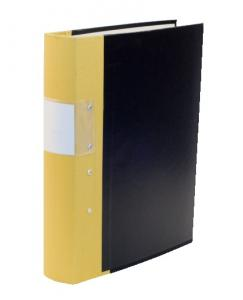Emo Gaffelpärm A4 40mm gul - Kalenderkungen.se