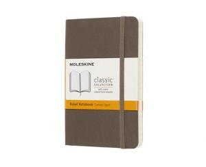 Moleskine Moleskine Notebook Pocket Soft Cover - Brun - Linjerad - Kalenderkungen.se