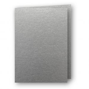 A7 Kort dubbla stående 5-pack 220g Silver