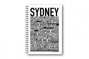 Anteckningsbok Sydney