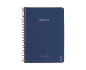 Premium Notebook A5 Navy