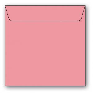 Kvadratiska Kuvert 5-pack 110g Rosa