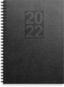 Business A5 svart konstläder Country 2022