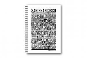 Anteckningsbok San Francisco
