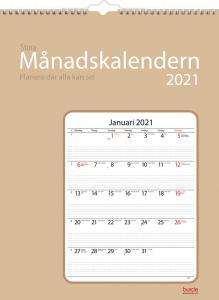 Stora månadskalendern 2021