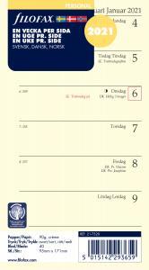 Filofax dagbok Personal V/S 2021