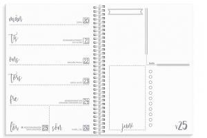 Veckoplanering Doodle II A5 2021-2022