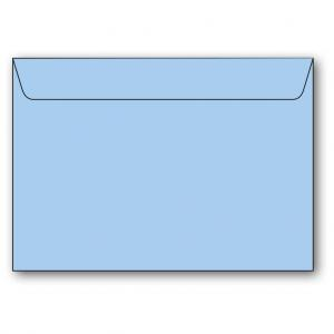 C5 Kuvert 5-pack 110g Ljusblå