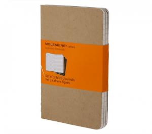 Moleskine Moleskine Cahier Journal Large Ruled - Natur - Kalenderkungen.se