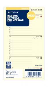 Filofax dagbok Personal 2022