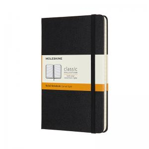 Moleskine Moleskine Classic Hard Medium Ruled Notebook Black - Kalenderkungen.se