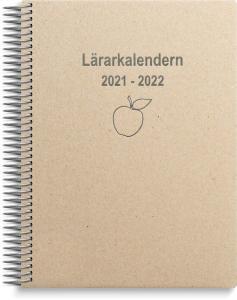 Lärarkalender horisontell 2021-2022