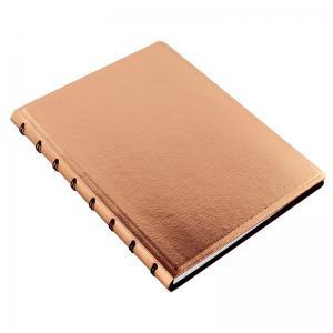 Filofax Filofax A5 Saffiano Notebook Metallic Rose - Kalenderkungen.se