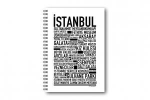 Anteckningsbok Istanbul