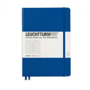 Leuchtturm1917 Leuchtturm Notebook A5 hard 249s Royal blue linjerad - Kalenderkungen.se