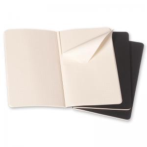 Moleskine Cahier Journal Pocket Squared - Svart