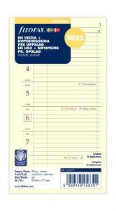 Filofax dagbok Personal V+N/U 2022