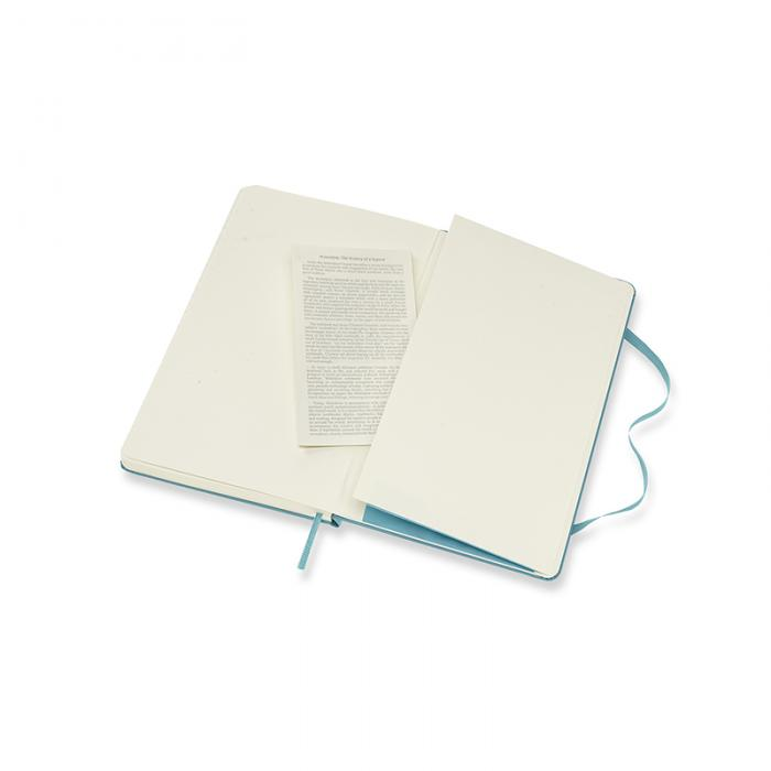 Moleskine Plain Classic Notebook Large - Reef Blue