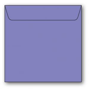 Kvadratiska Kuvert 5-pack 110g Mörklila
