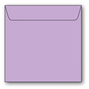 Kvadratiska Kuvert 5-pack 110g Ljuslila