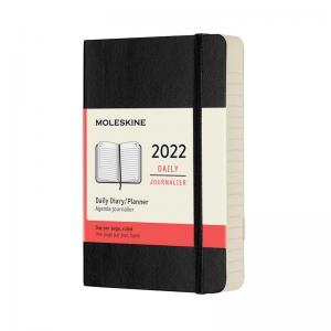 Moleskine Daily Black Soft pocket 2022