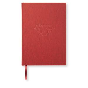 Paperstyle Klassisk gästbok 170x240 mm 128 sidor Röd - Kalenderkungen.se